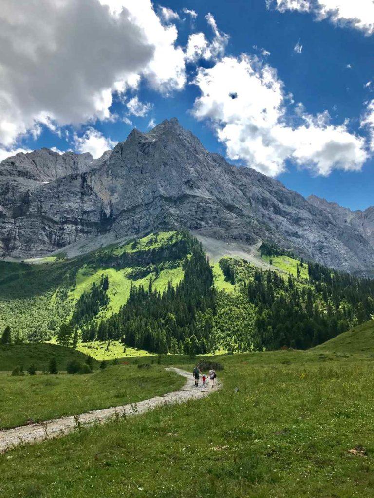 Ahornboden - eine der besten Tirol Sehenswürdigkeiten in der Natur