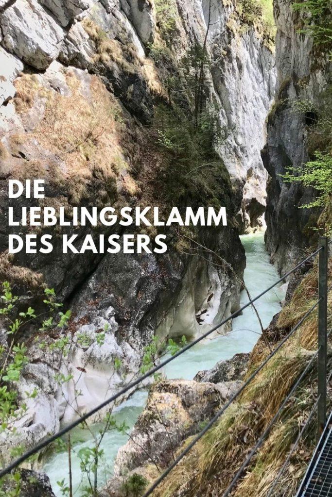 Kaiserklamm - eine der geheimen Ausflug Sehenswürdigkeiten in Tirol