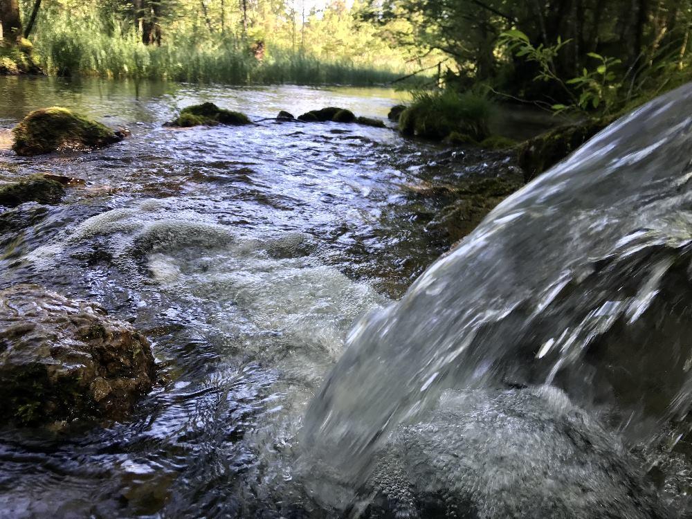 Sehenswürdigkeiten Bayern: Die Kuhflucht Wasserfälle