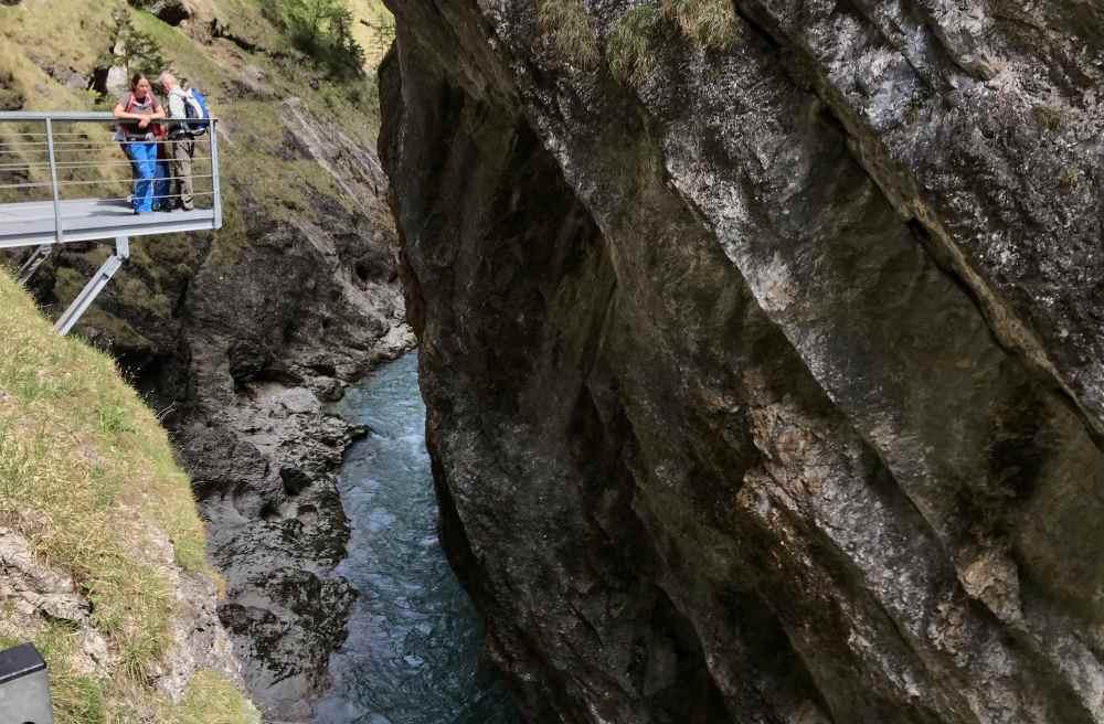 Tiefenbachklamm - Tirol Sehenswürdigkeiten bei Kramsach
