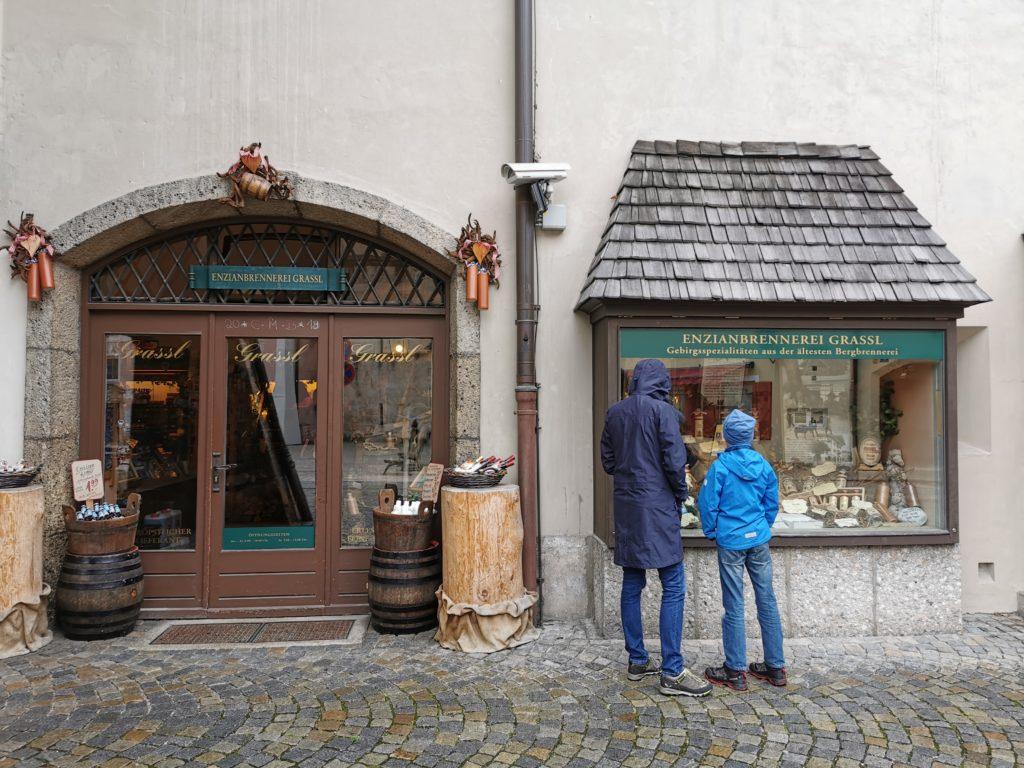 Berchtesgaden bei Regen: Stadtbummel und Einkaufen