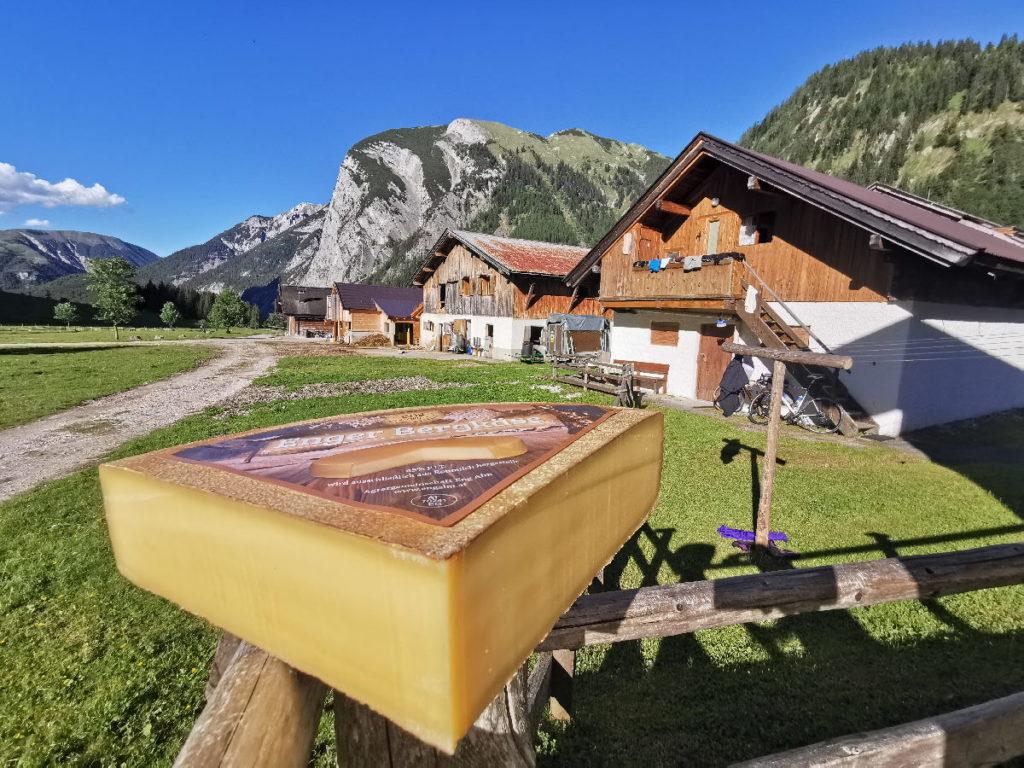 Österreich Sehenswürdigkeiten in der Natur: Die Engalm am Großen Ahornboden