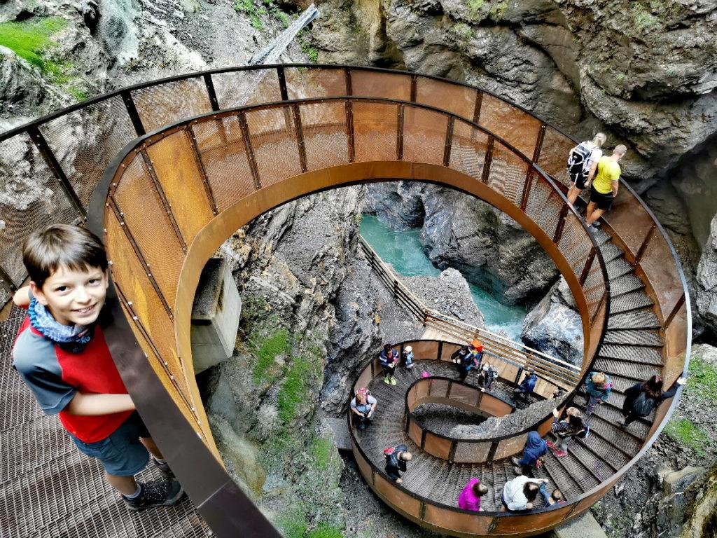 Top Sehenswürdigkeiten Österreich: Die Liechtensteinklamm ist ein Besuchermagnet