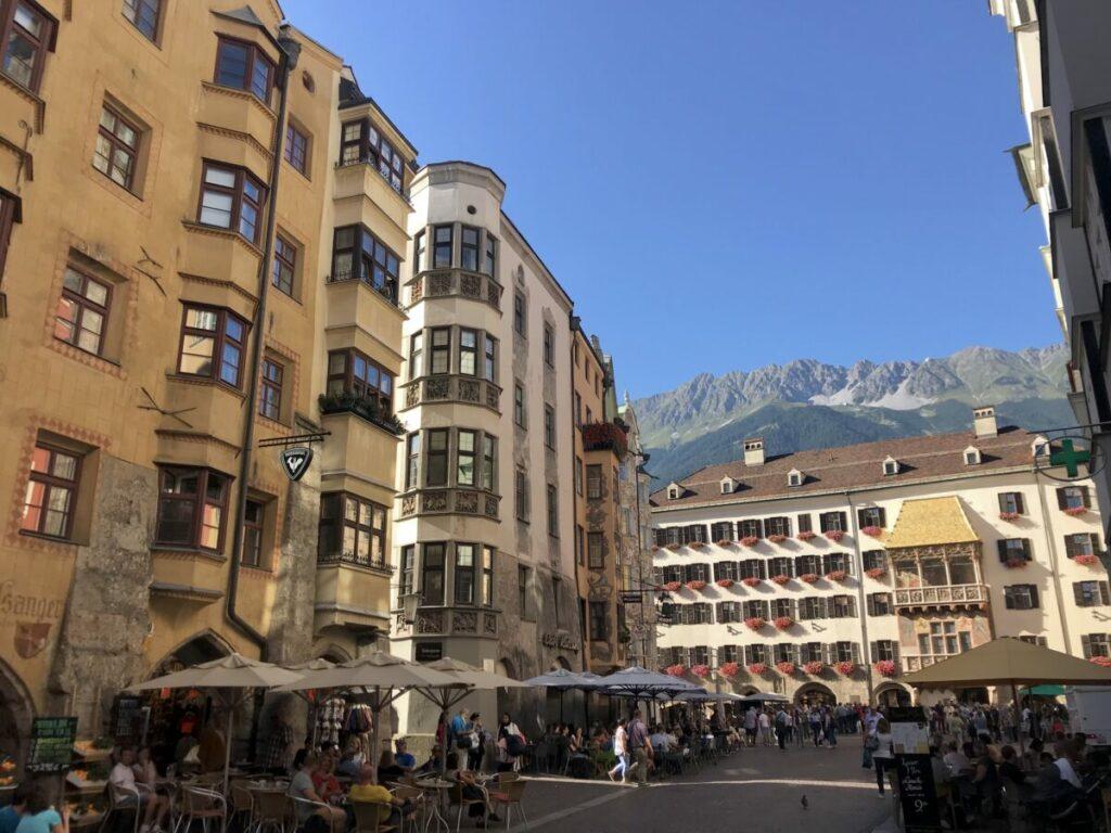 Österreich Sehenswürdigkeiten - Goldenes Dachl in Innsbruck