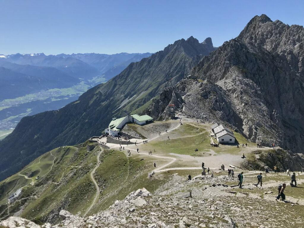 Österreich Sehenswürdigkeiten - mit der Nordkettenbahn auf´s Hafelekar in Innsbruck
