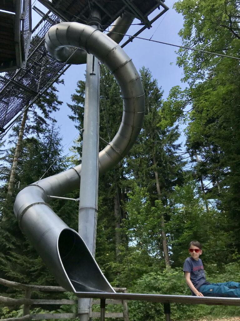 Sehenswürdigkeiten Deutschland mit Kindern - der Skywalk Scheidegg ist ein Top-Ziel!