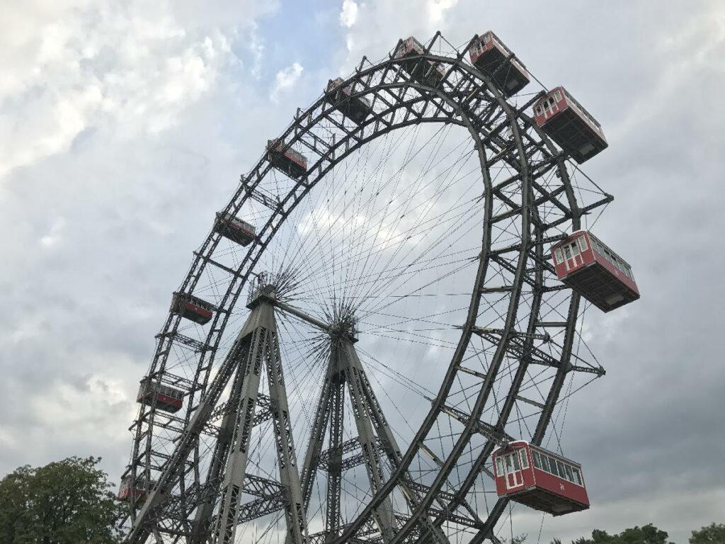 Sehenswürdigkeiten Österreich - das Riesenrad auf derm Prater in Wien