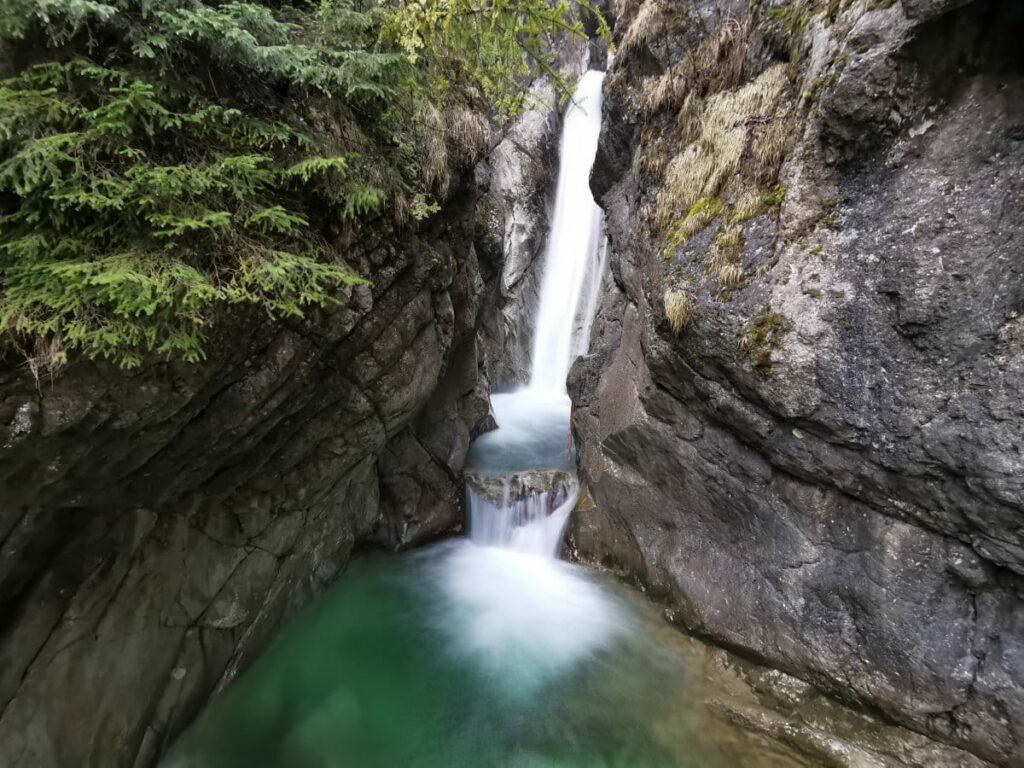 Sehenswürdigkeiten Deutschland: Die Tatzelwurm Wasserfälle