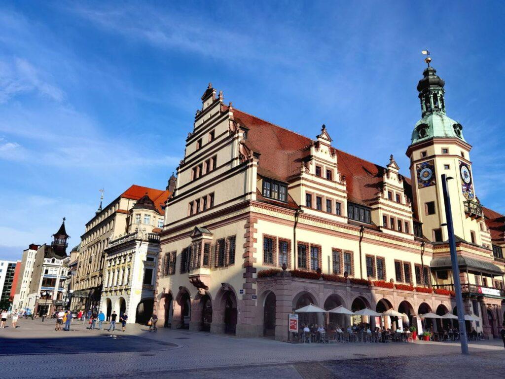 Das Alte Rathaus in der Altstadt Leipzig