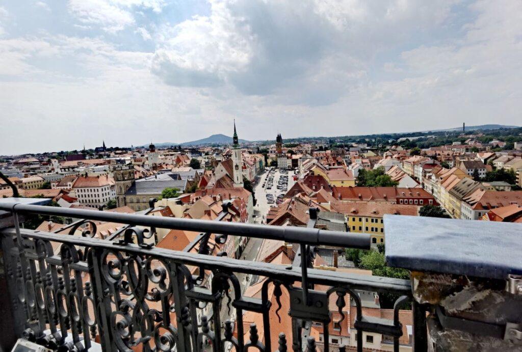 Sehenswürdigkeiten Görlitz von oben - gut zu sehen vom Rathausturm